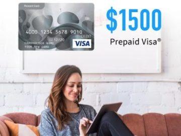 Win a $1,500 Visa Gift Card!
