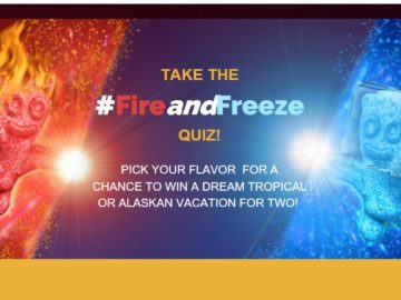 Sour Patch Kids #FireandFreeze Sweepstakes