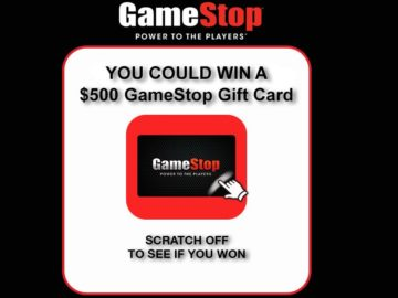 GameStop PowerUp Rewards Instant Win Game