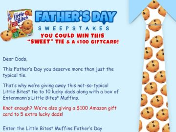 Father's Day Love Little Bites Sweepstakes