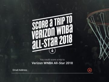 Verizon WNBA All-Star 2018 Sweepstakes