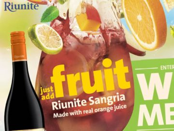 Riunite Sangria Summer Sweepstakes (Photo)