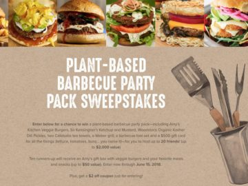 Amy's National Veggie Burger Sweepstakes