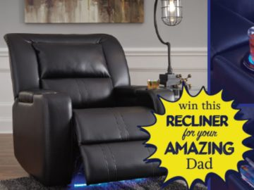 Father's Day Ashley Power Recliner Sweepstakes (Facebook)