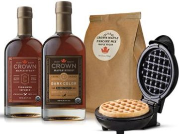 Win a Waffle and Maple Syrup Kit!