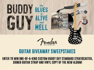 Buddy Guy Guitar Sweepstakes