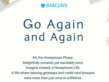 "Barclays Arrival Premier World Elite Mastercard ""Go Again and Again"" Contest"