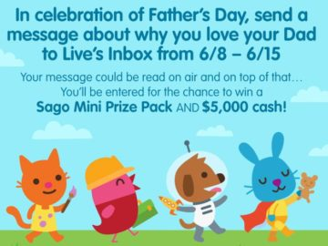 LIVE's Sago Mini Inbox Contest