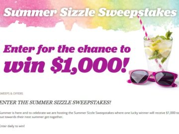 EatingWell Summer Sizzle Sweepstakes