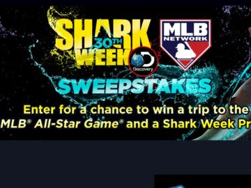 Shark Week and MLB Network Sweepstakes