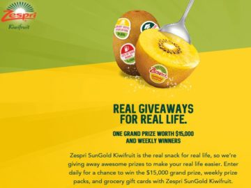Zespri Real Life Sweepstakes