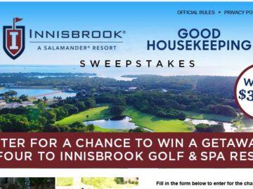 Good Housekeeping Innisbrook Golf & Spa Resort Getaway Sweepstakes