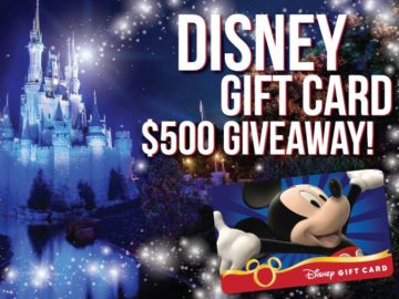 SmartStop Self Storage Disney Gift Card Sweepstakes