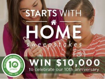 "Better Homes & Gardens Real Estate ""Starts with a Home"" Sweepstakes"