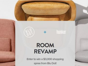 Hunker & Blu Dot Room Revamp Sweepstakes