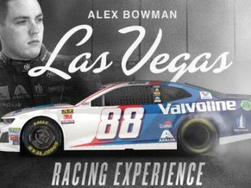 Alex Bowman Las Vegas Racing Experience Sweepstakes