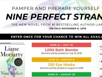 Liane Moriarty Summer Sweepstakes