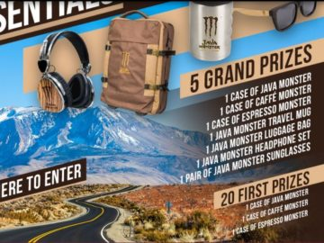 Monster Energy JAVA MONSTER Ultimate Summer Staycation Essentials Sweepstakes