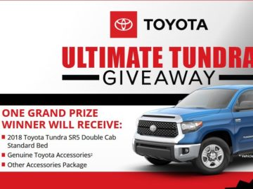 Bassmaster Toyota Ultimate Tundra Giveaway Sweepstakes
