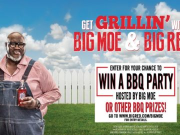 Big Red's Grillin' With Big Moe Sweepstakes