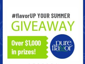 Pure Flavor #LiveDelicious & #flavorUP Your Summer Sweepstakes (Facebook)
