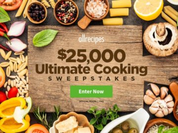 allrecipes Ultimate Cooking Sweepstakes