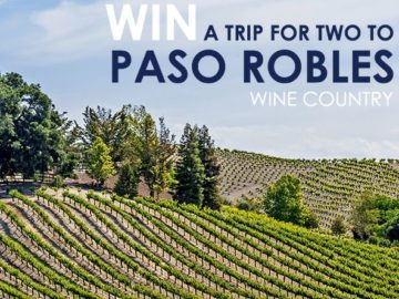 Paso Robles Wineries Vacation Sweepstakes