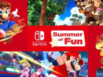 Nintendo Switch Summer of Fun Sweepstakes
