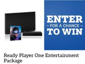 Ready Player One Entertainment Package Sweepstakes