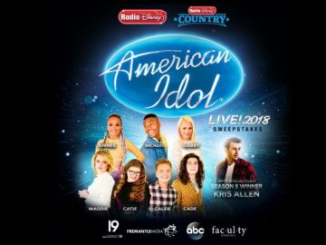 Radio Disney American Idol Live! Sweepstakes