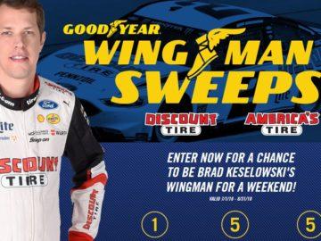 Goodyear Wingman Sweepstakes