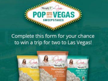 Simply 7 & Giada POP into Vegas Sweepstakes
