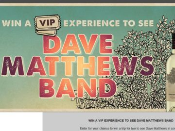 Dreaming tree dave matthews sweepstakes and giveaways