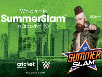 Cricket Wireless SummerSlam Flyaway Sweepstakes