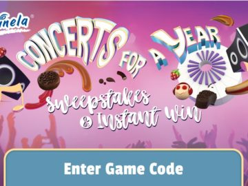 Marinela Concerts for a Year Sweepstakes & Instant Win