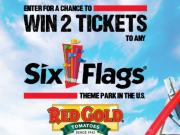 Red Gold Six Flags Ticket Sweepstakes (Limited States)