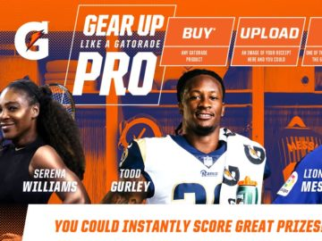 Gear up like a Gatorade Pro Instant Win Game (Purchase or Mail-In)