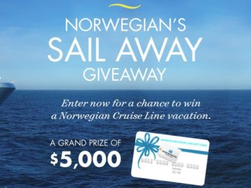 Norwegians Sail Away Sweepstakes