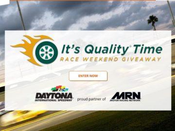 Choice Hotels 2018 Quality Inn Race Weekend at Daytona Sweepstakes