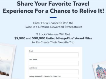 PopSugar Twice in a Lifetime Rewarded Sweepstakes