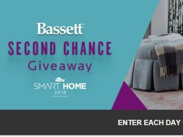 "Bassett ""Second Chance"" Sweepstakes"