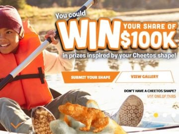 Cheetos Win What You See Sweepstakes