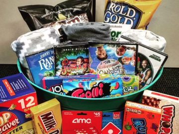 Family Movie Night Basket Sweepstakes