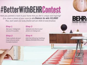 HGTV #BetterWithBEHR Contest (Instagram)