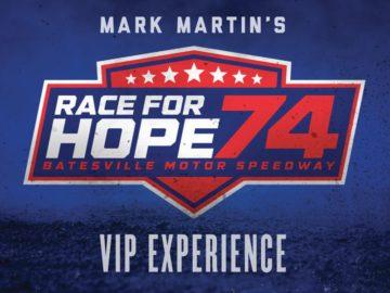 Valvoline Mark Martin Race for Hope 74 VIP Experience Sweepstakes