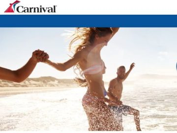 Carnival Panorama Sweepstakes