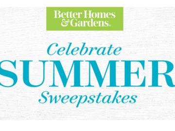 Better Homes & Garden Celebrate Summer Sweepstakes