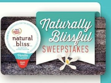 Coffee-Mate Natural Bliss Sweepstakes