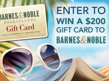 Win a $200 Barnes and Noble Gift Card!