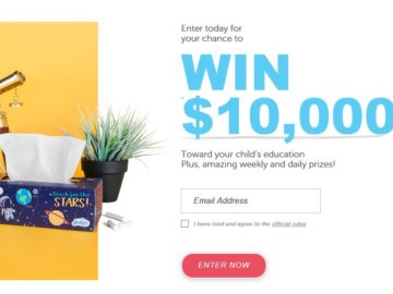 "Scotties ""Ready Set School"" Sweepstakes"